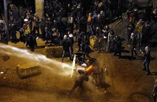 An ninh Liban sử dụng biện pháp mạnh tay với người biểu tình ở Beirut