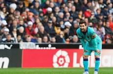 Thua Valencia, Barcelona có nguy cơ mất ngôi đầu vào tay Real