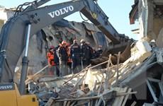 Số nạn nhân thiệt mạng trong trận động đất ở Thổ Nhĩ Kỳ tăng