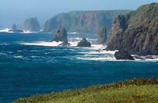Động đất có độ lớn 6,9 ngoài khơi quần đảo tranh chấp giữa Nga và Nhật
