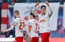 Bundesliga: RB Leipzig, Gladbach khiến cuộc đua vô địch kịch tính
