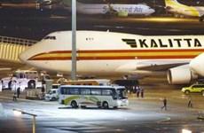 Chuyến bay đưa công dân Mỹ về từ du thuyền: Có 14 người nhiễm nCoV