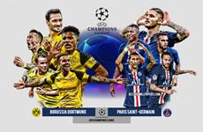 Thông tin đáng chú ý trước trận Dortmund-Paris Saint-Germain