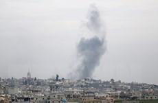 Cường kích Nga tấn công các vị trí của phiến quân ở Aleppo và Idlib