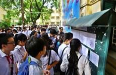 [Video] Hà Nội công bố các môn thi vào lớp 10 năm học 2020-2021