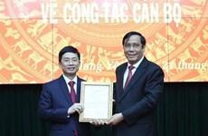 Ông Nguyễn Duy Hưng làm Phó Bí thư Thường trực Tỉnh ủy Hưng Yên