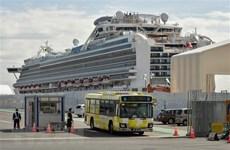 Nhiều khách rời tàu Diamond Princess có triệu chứng nhiễm SARS-CoV-2