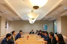 Đại sứ quán Việt Nam tại Mỹ thúc đẩy các hoạt động hợp tác