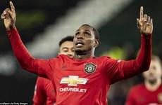 Ighalo lập cú đúp giúp Manchester United thẳng tiến tứ kết FA Cup