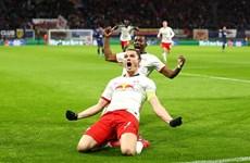 RB Leipzig đá bay Tottenham khỏi đấu trường Champions League