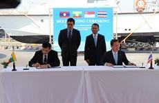 Thái Lan, Singapore bàn giao 3 tàu tuần tra cho Lào và Myanmar