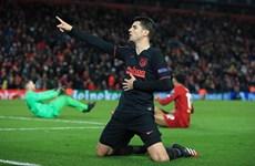 Atletico biến Liverpool thành cựu vương ngay tại thánh địa Anfield
