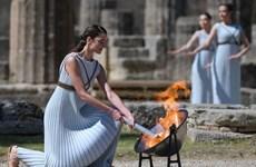 Ngọn đuốc Olympic Tokyo 2020 đã được thắp sáng tại thành cổ Hy Lạp