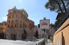 [Video] Di tích nổi tiếng ở Italy không có bóng người vì dịch COVID-19