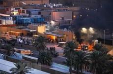 Iraq: Tấn công bằng rocket trúng khu dân cư gần Vùng Xanh
