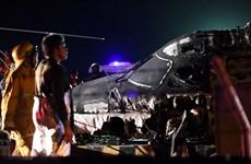 Hiện trường vụ tai nạn máy bay ở Philippines khiến 8 người thiệt mạng