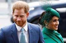 Cặp đôi Harry và Meghan chính thức rời khỏi Hoàng gia Anh