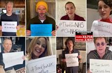 Sao giải trí Anh cùng nhau cảm ơn những người chống dịch COVID-19