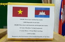 [Video] Campuchia cảm ơn Việt Nam đã hỗ trợ thiết bị chống dịch