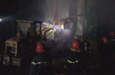 Quảng Ngãi: Cháy lớn tại cụm công nghiệp làng nghề Tịnh Ấn Tây