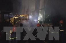 Đắk Lắk: Dập tắt vụ hỏa hoạn tại khu công nghiệp Hòa Phú