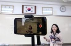 Những rắc rối trong dạy và học trực tuyến tại Hàn Quốc