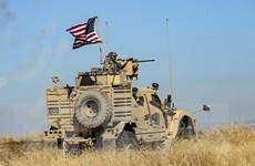 Mỹ chuyển nhiều thiết bị quân sự đến căn cứ ở Đông Bắc Syria