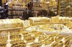 Giá vàng châu Á đi xuống do hoạt động chốt lời của nhà đầu tư