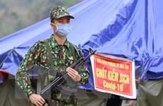 Những người lính quân hàm xanh trên tuyến đầu chống dịch COVID-19