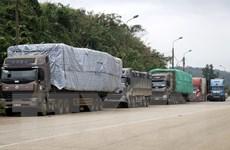 Dịch COVID-19: Nhiều giải pháp giảm tải hàng hóa tại cửa khẩu