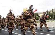 Iran tổ chức lễ diễu binh đặc biệt kỷ niệm Ngày Quân đội