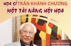 [Infographics] Họa sỹ Trần Khánh Chương: Một tài năng hội họa