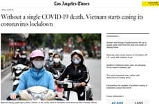 Truyền thông quốc tế nêu bật kinh nghiệm chống dịch của Việt Nam