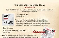 [Infographics] Thế giới nói gì về chiến thắng lịch sử 30/4/1975