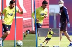 [Video] Barcelona trở lại tập luyện, chờ ngày La Liga tái đấu