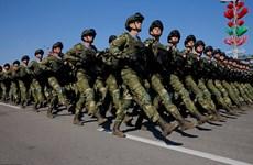 Màn duyệt binh hoành tráng mừng Ngày Chiến thắng của Belarus