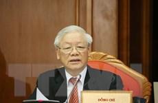 Toàn văn bài phát biểu bế mạc Hội nghị Trung ương 12 của Tổng Bí thư