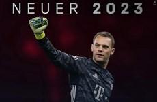 Bayern Munich chính thức gia hạn hợp đồng với Neuer đến 2023
