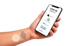 Phát triển miếng dán đo thân nhiệt giúp phát hiện bệnh COVID-19