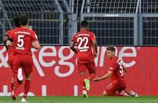 Kimmich lập siêu phẩm, Bayern hạ Dortmund ngay tại Signal-Iduna Park