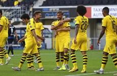 Dortmund vớt vát hy vọng bằng chiến thắng tưng bừng 6-1