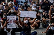 Brazil: Hàng trăm người tuần hành phản đối phân biệt chủng tộc