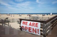 Bang New Jersey của Mỹ dỡ bỏ lệnh yêu cầu người dân ở nhà