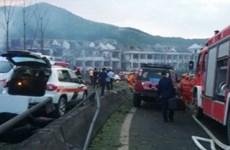 Nổ xe bồn tại Trung Quốc, 4 người chết và hàng chục người bị thương