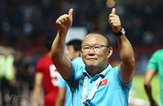 Ông Park Hang-seo lọt vào danh sách HLV xuất sắc nhất châu Á