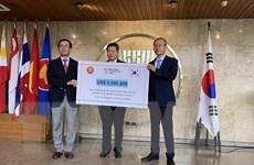 Hàn Quốc hỗ trợ ASEAN nâng cao năng lực phát hiện COVID-19