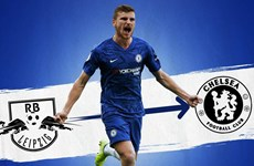 Chelsea chiêu mộ thành công tuyển thủ Đức Timo Werner