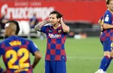 Hòa Sevilla, Barcelona có nguy cơ mất ngôi đầu vào tay Real