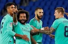 Đánh bại Sociedad, Real Madrid soán ngôi đầu của Barcelona