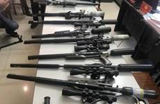 Hà Nội: Triệt phá đường dây nhập lậu, mua bán linh kiện súng săn